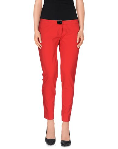 MANGANO Casual Pants in Red
