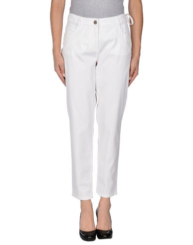SCERVINO STREET Casual Pants in White