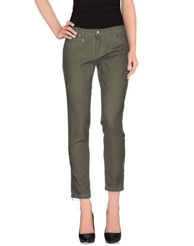 TRU TRUSSARDI Casual Pants in Military Green