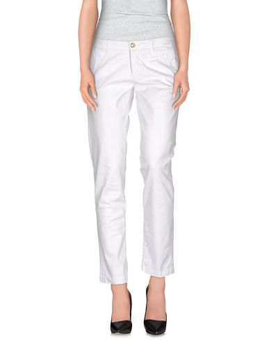 MONOCROM Casual Pants in White