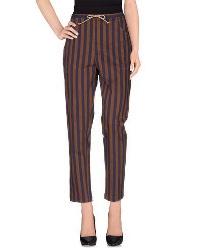 TER ET BANTINE Casual Pants in Dark Blue