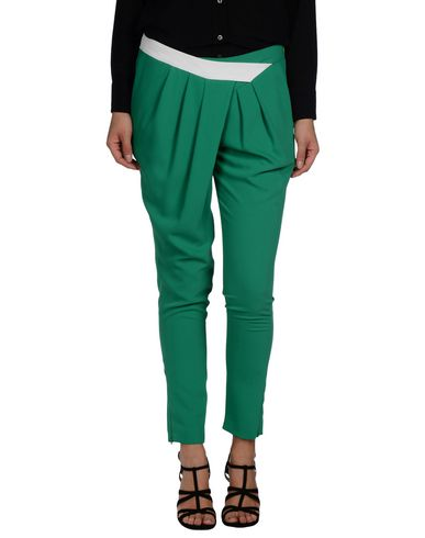 HANITA Casual Pants in Green