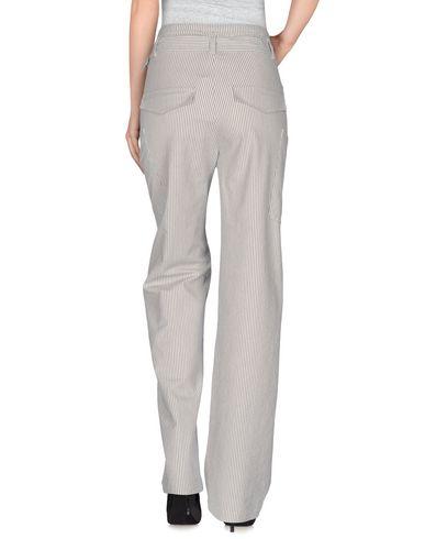 INTROPIA CASUAL PANTS, WHITE
