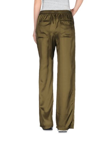 T BY ALEXANDER WANG CASUAL PANTS, MILITARY GREEN