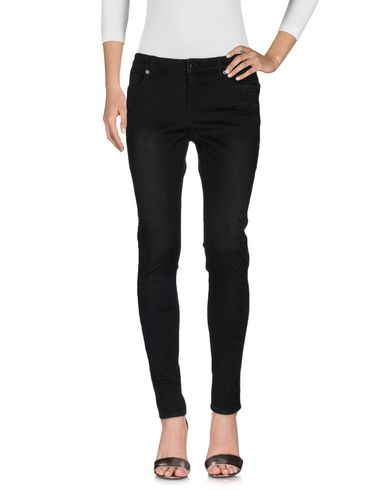 MICHAEL MICHAEL KORS DENIM PANTS, DARK BROWN