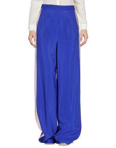 Msgm Casual Pants, Bright Blue