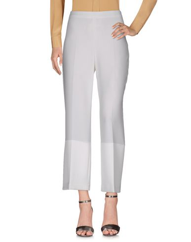THEORY CASUAL PANTS, WHITE