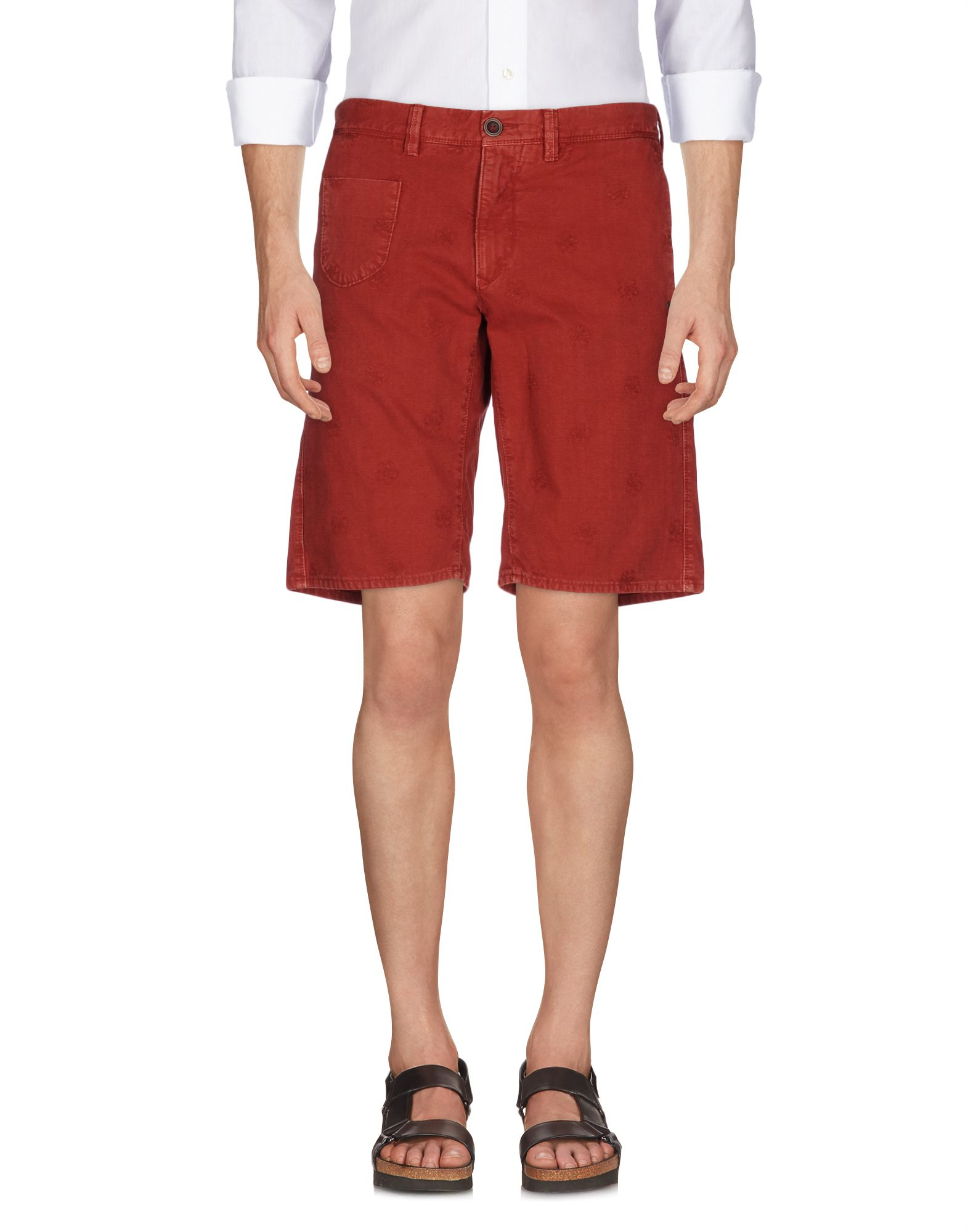 Shorts & Bermuda Incotex rot herren - 36972304RS