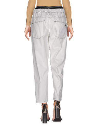Emporio Armani Casual Pants, White