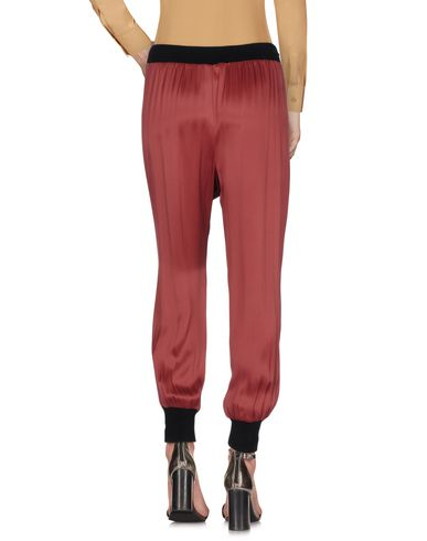 INTROPIA CASUAL PANTS, MAROON