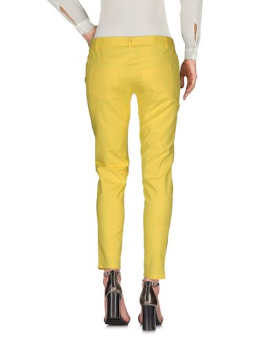 BOUTIQUE MOSCHINO CASUAL PANTS, YELLOW