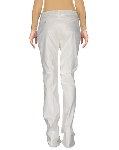 BARBARA BUI CASUAL PANTS, WHITE