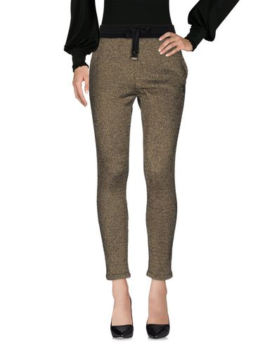 ROBERTO CAVALLI GYM Casual Pants in Gold