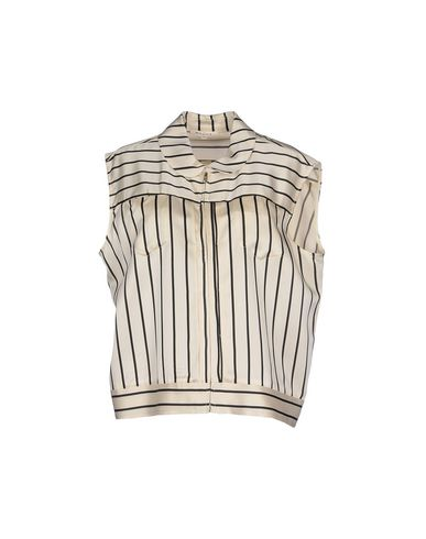 HACHE Striped Shirt in Ivory