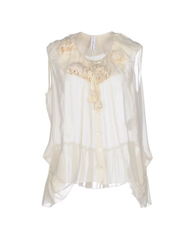 HIGH Silk Shirts & Blouses in Ivory