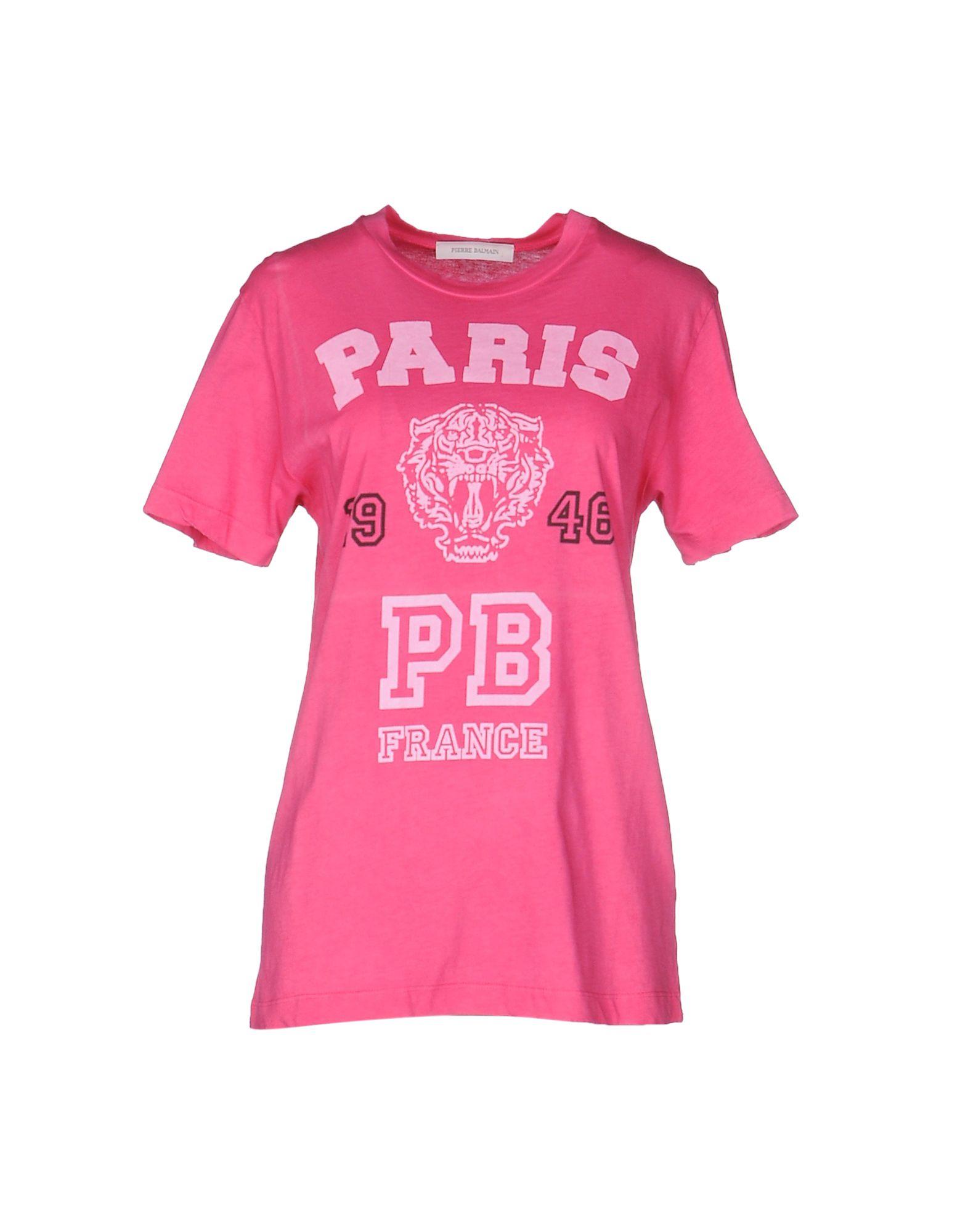 Pierre Balmain T-Shirt - Women Pierre Balmain T-Shirts online on ... f90ae0920