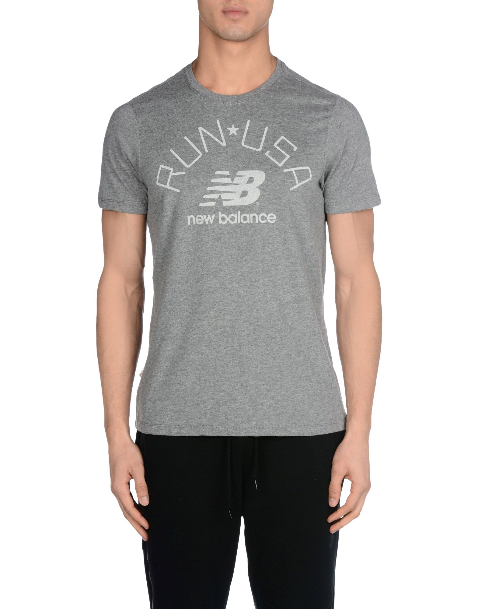 T-Shirt Sportiva Nuovo Balance Run Usa Tee Tee Usa - Uomo - 37856580QO 339ee4