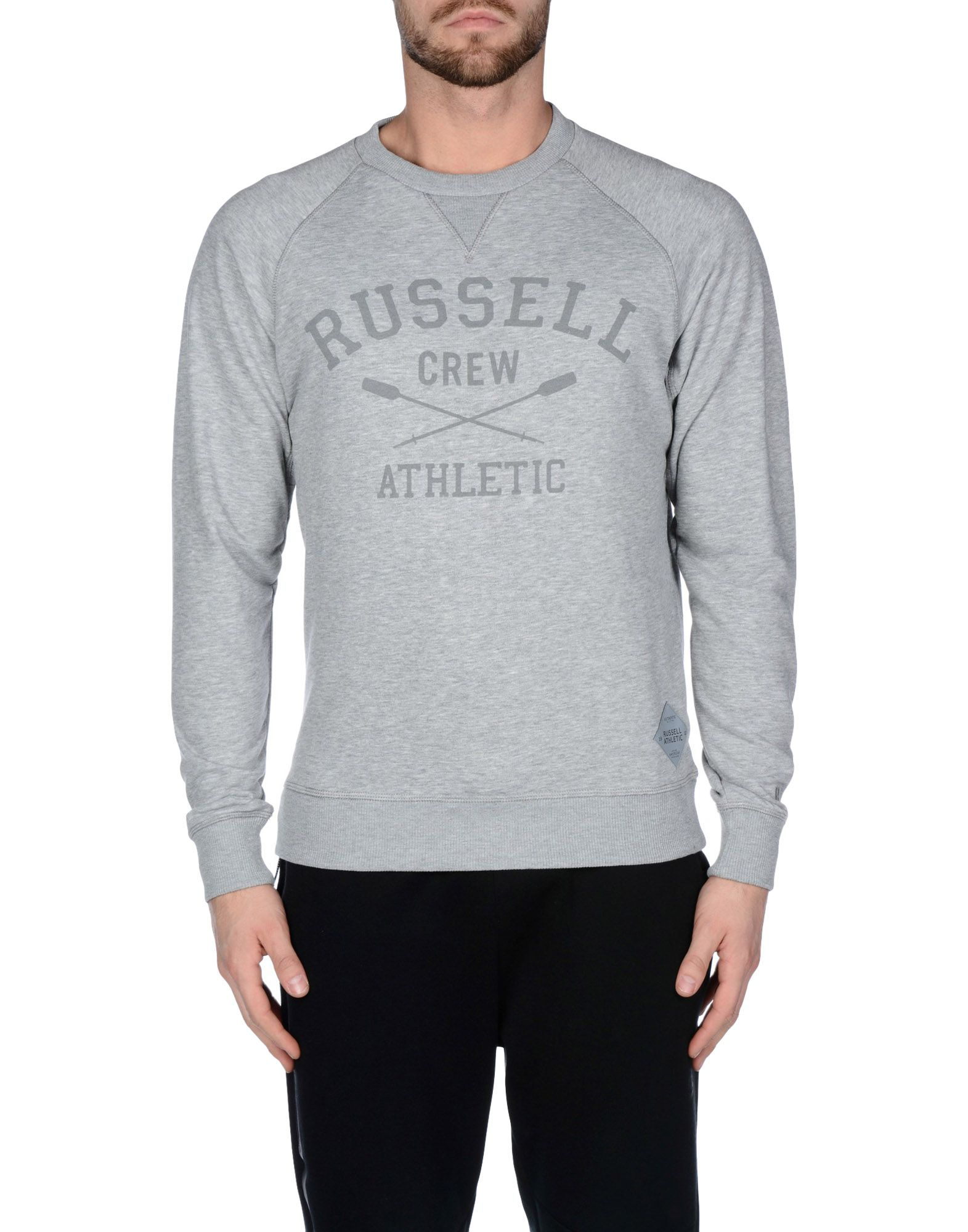 Felpa Russell Athletic Zip Through Raglan Raglan Through Hoody Sweat - Uomo - 37860492WO 214e5e