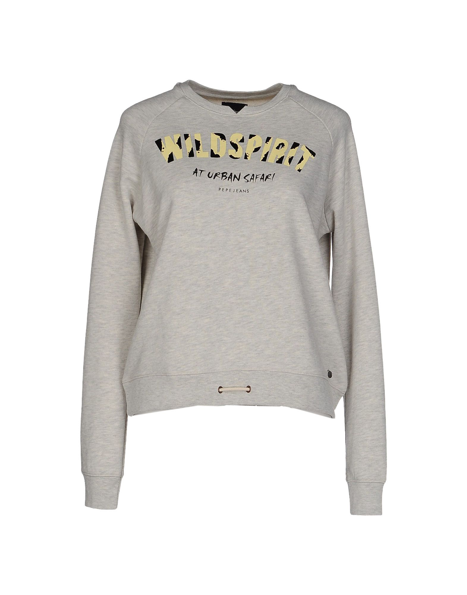 0a24b0d22 Pepe Jeans Sweatshirt - Women Pepe Jeans Sweatshirts online on YOOX ...