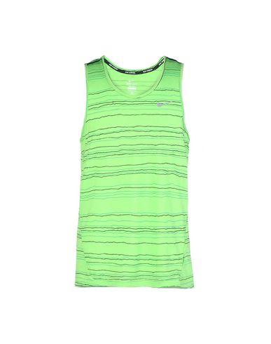 NIKE DF COOL TAILWIND STRIPE TNK Sportliches T-Shirt