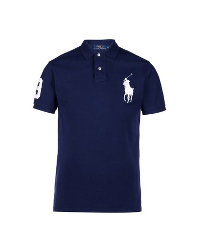 b71000a823a9f Polo Ralph Lauren Custom Fit Big Pp Polo - Polo Shirt - Men Polo ...