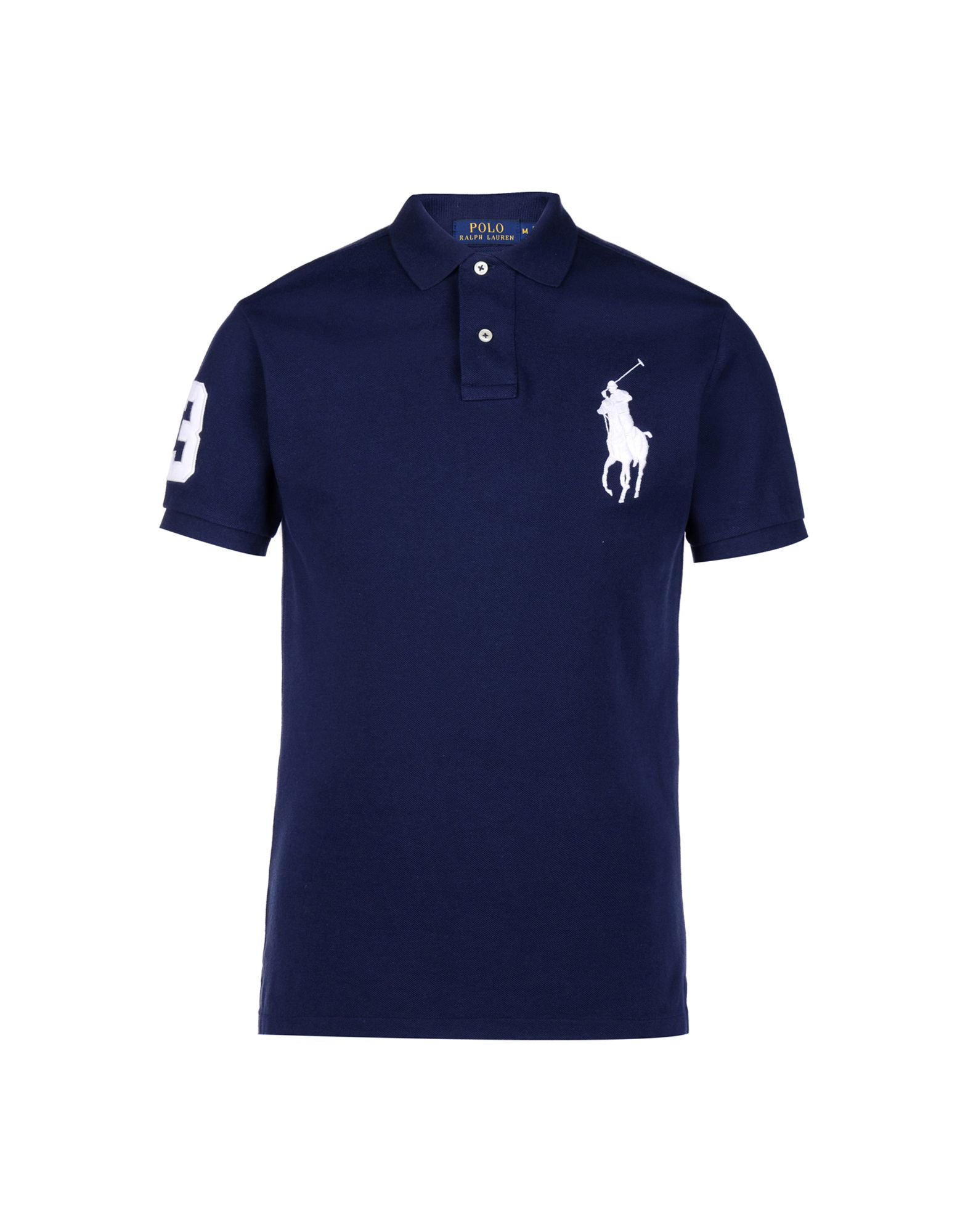 e658865888 Polo Ralph Lauren Custom Fit Big Pp Polo - Polo Shirt - Men Polo Ralph  Lauren Polo Shirts online on YOOX United Kingdom - 37900756SC
