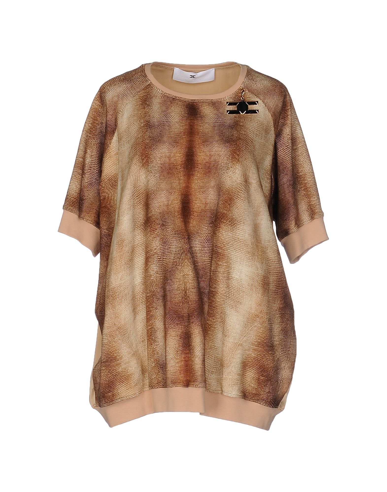 Sweater for Women Jumper On Sale, Beige, Cotton, 2017, 12 8 Elisabetta Franchi