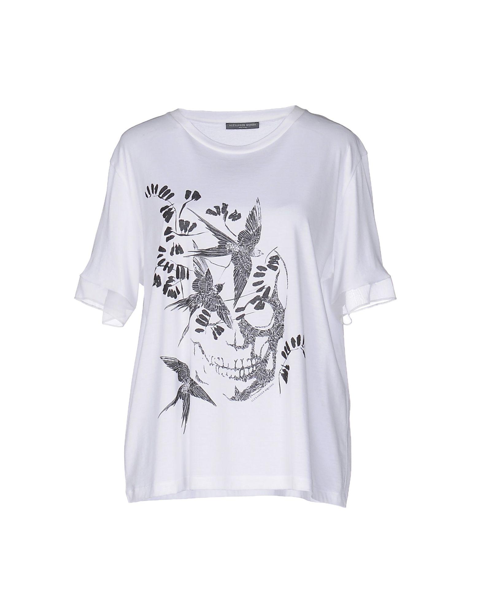 T-Shirt Alexander Mcqueen Donna - Acquista online su F59vZ