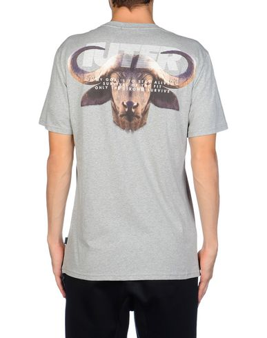 IUTER DIGISCREEN TEE BUFALOScreen And Digital Printed Regular Fit T-Shirt Camiseta