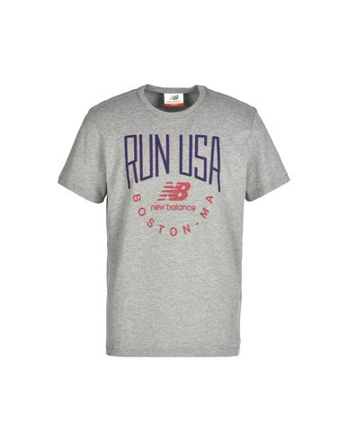 NEW BALANCE RUN USA TEE Camiseta