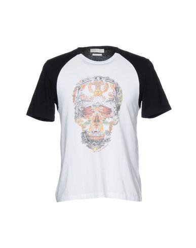 Alexander Mcqueen Camiseta klaring nye ankomst ren og klassisk perfekt vPCfO9i
