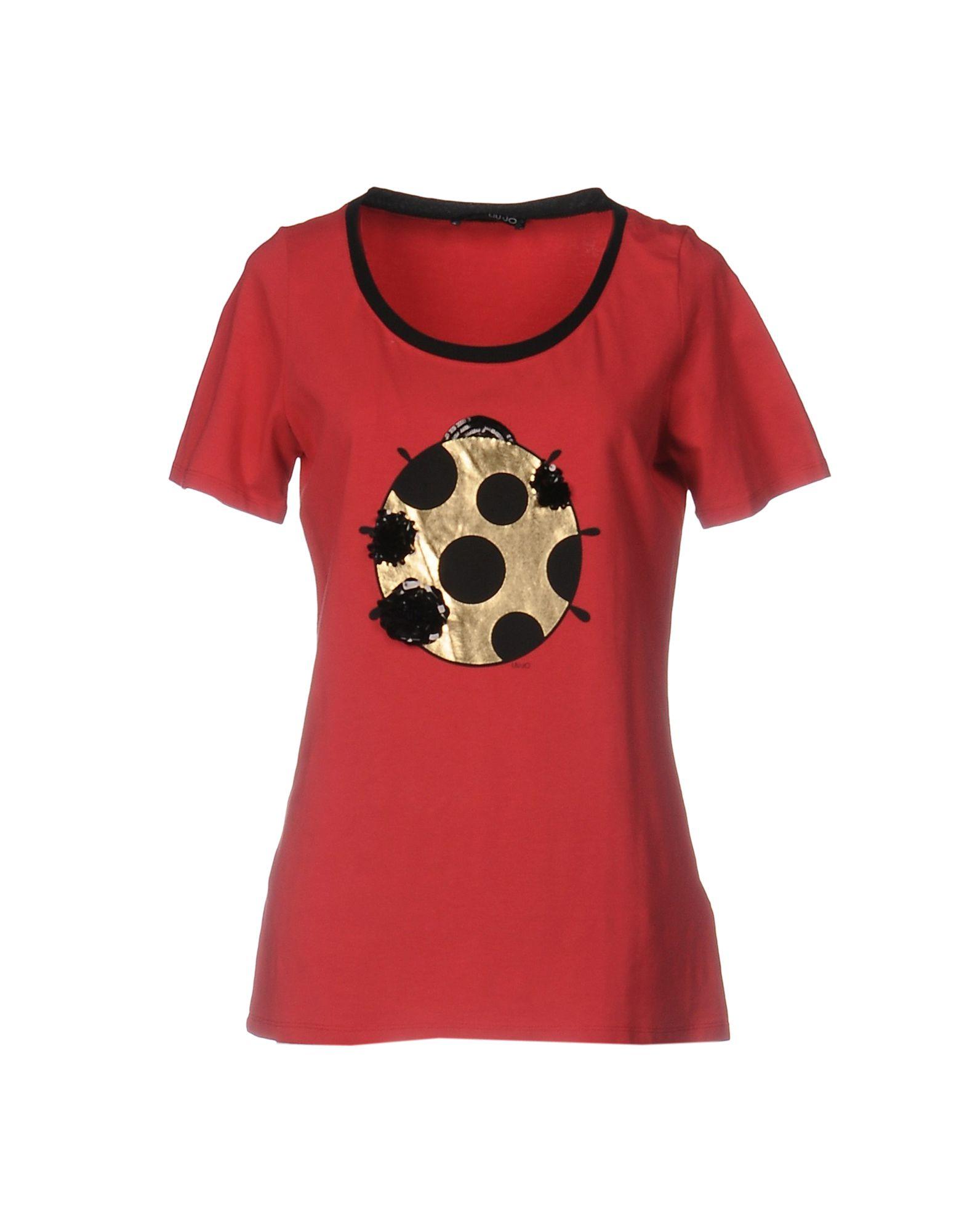 Liu •Jo T-Shirt - Women Liu •Jo T-Shirts online on YOOX Lithuania ... e494027ee83