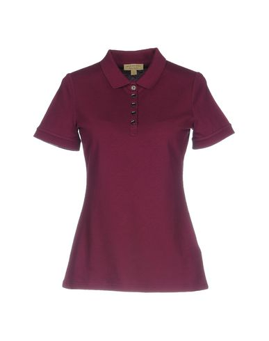 9e3a10d5a638 Burberry Polo Shirts In Mauve   ModeSens