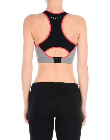 FALKE SPORTS BRAS AND PERFORMANCE TOPS, BLACK