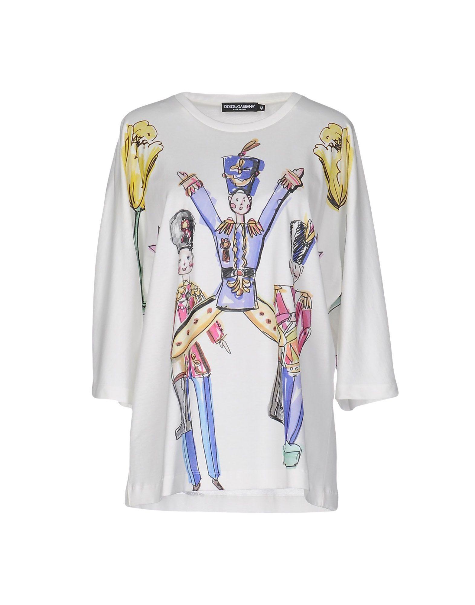 T-Shirt Dolce & Gabbana Donna - Acquista online su hbp24gb