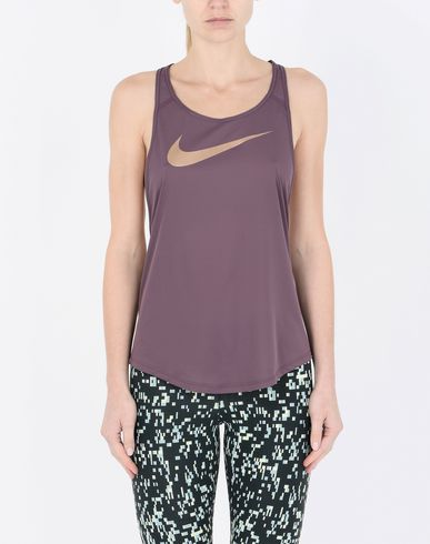 NIKE W TANK FLOW METALLIC Top