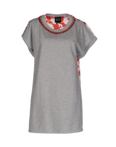 TWIN-SET JEANS Sweatshirt in Light Grey