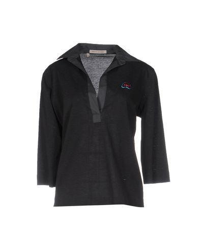 MAFALDA VON HESSEN Polo Shirt in Steel Grey