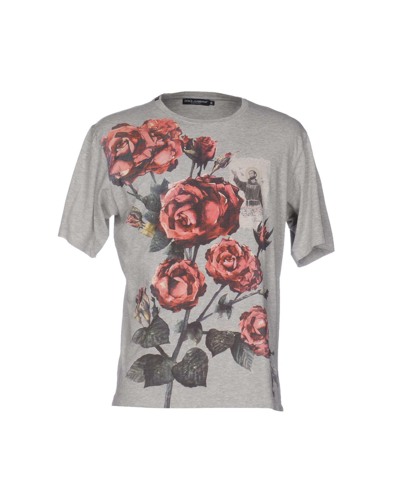 Dolce   Gabbana T-Shirt - Dolce   Gabbana Uomo - YOOX aa66bae6360