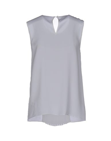 MICHAEL MICHAEL KORS SILK TOP, WHITE