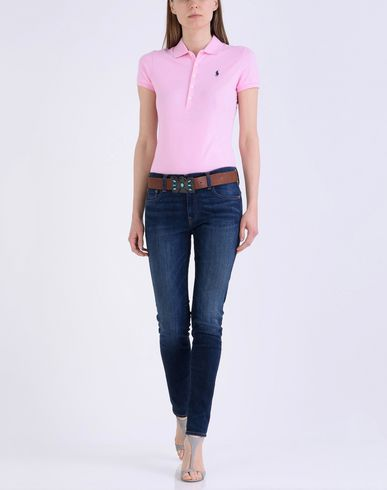 POLO RALPH LAUREN Skinny Fit Stretch Polo Polo