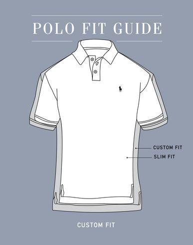 shirt POLO POLO RALPH Poloshirt polo Custom RALPH LAUREN LAUREN fit wqqE8Ox7