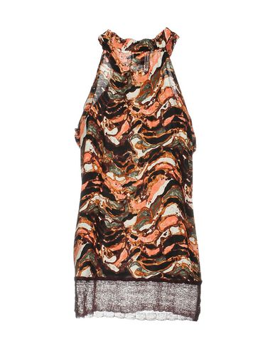 M MISSONI TOP, BROWN