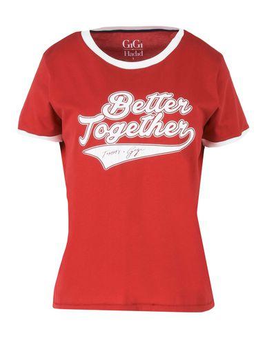 93dcb4e9 Gigi Hadid X Tommy Hilfiger Gigi Ringer Tee Better Together - T ...