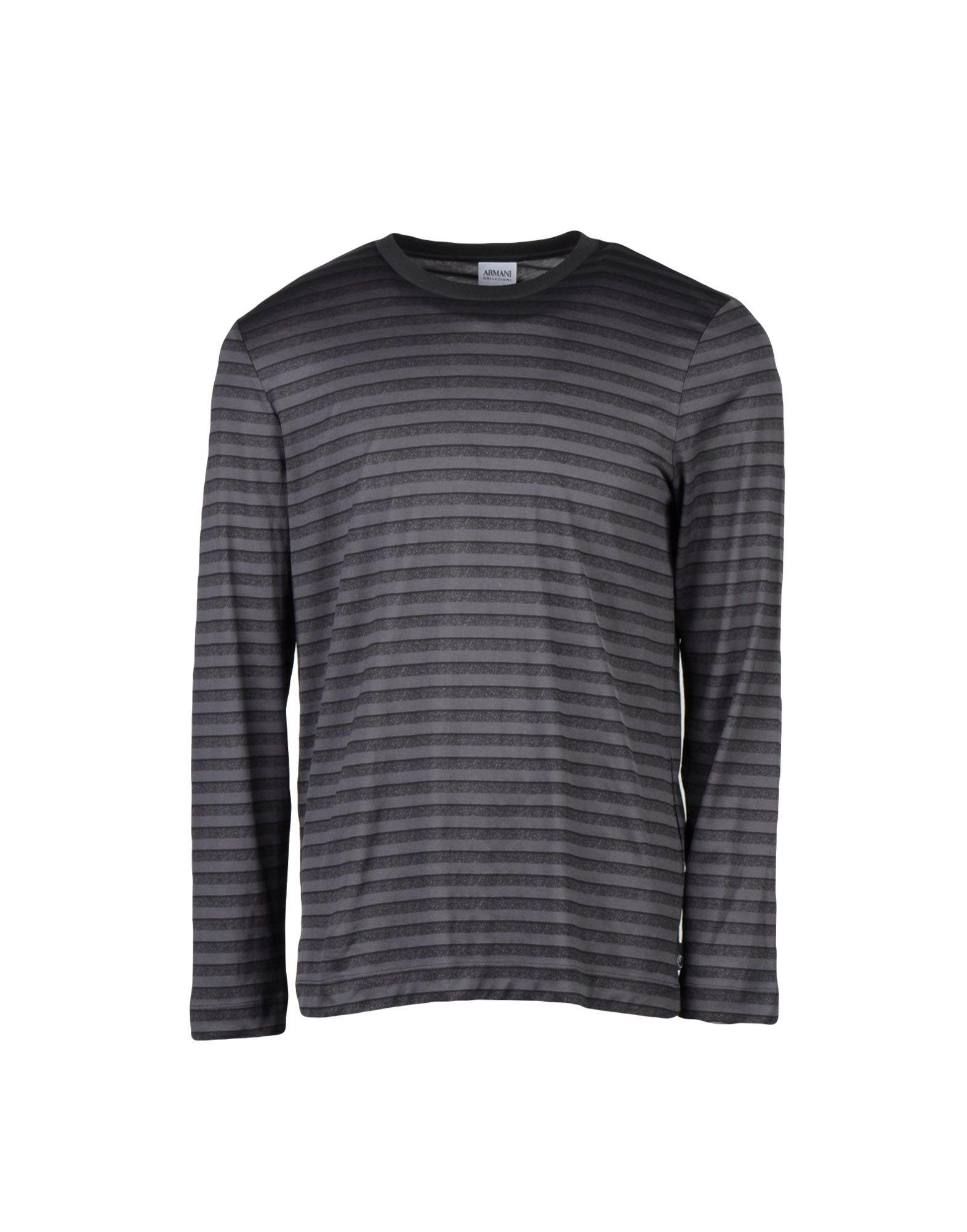 0ae68bb94d48 Armani Collezioni T-Shirts for Men - Armani Collezioni T-Shirts And Tops |  YOOX