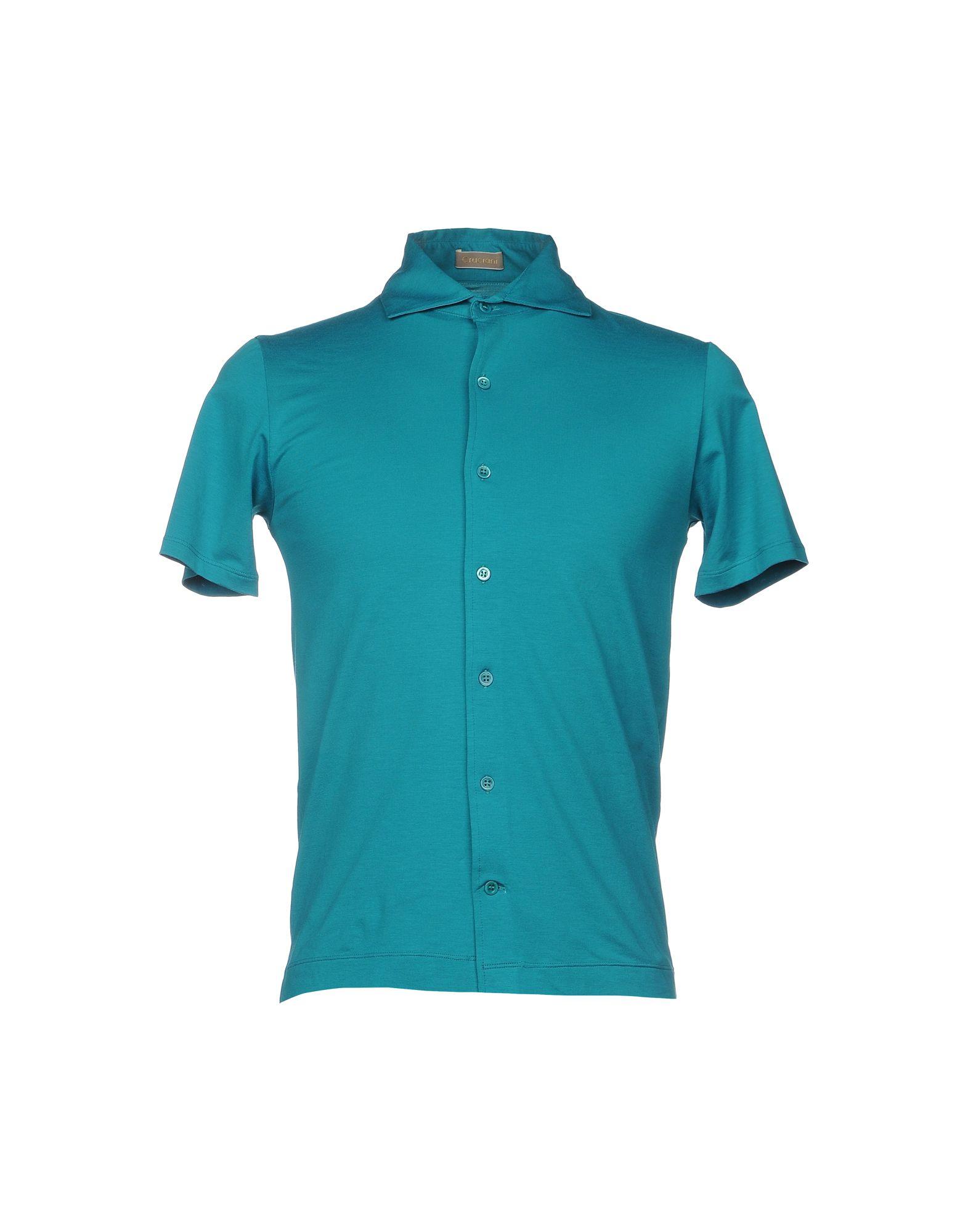 Camicia Tinta Unita Cruciani Uomo - Acquista online su