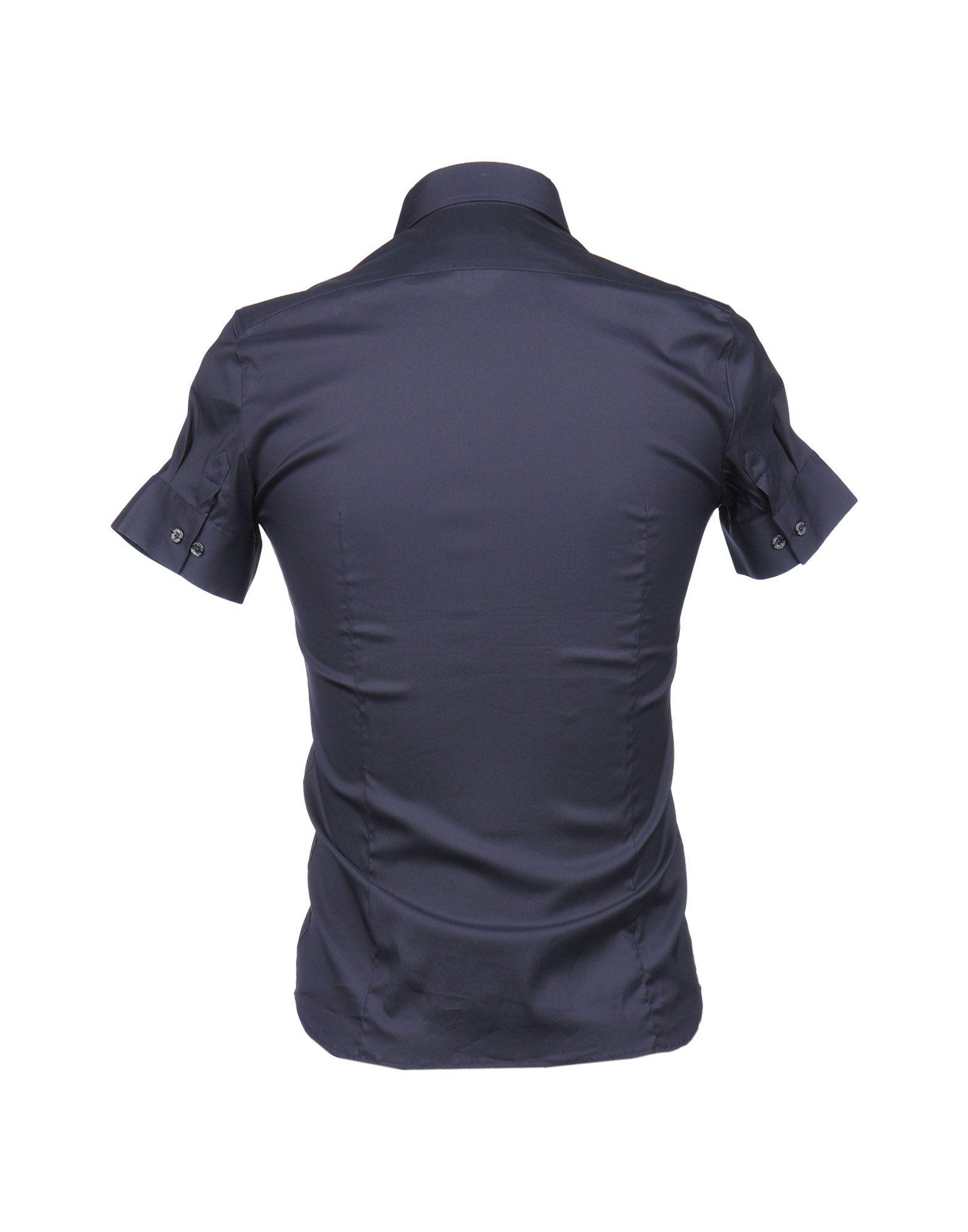 Camicia Maniche Corte Patrizia - Pepe Uomo - Patrizia 38353189CJ 56cbc6