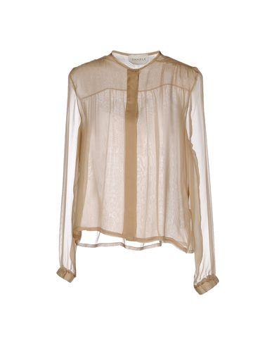 DANIELE CARLOTTA Silk Shirts & Blouses in Sand
