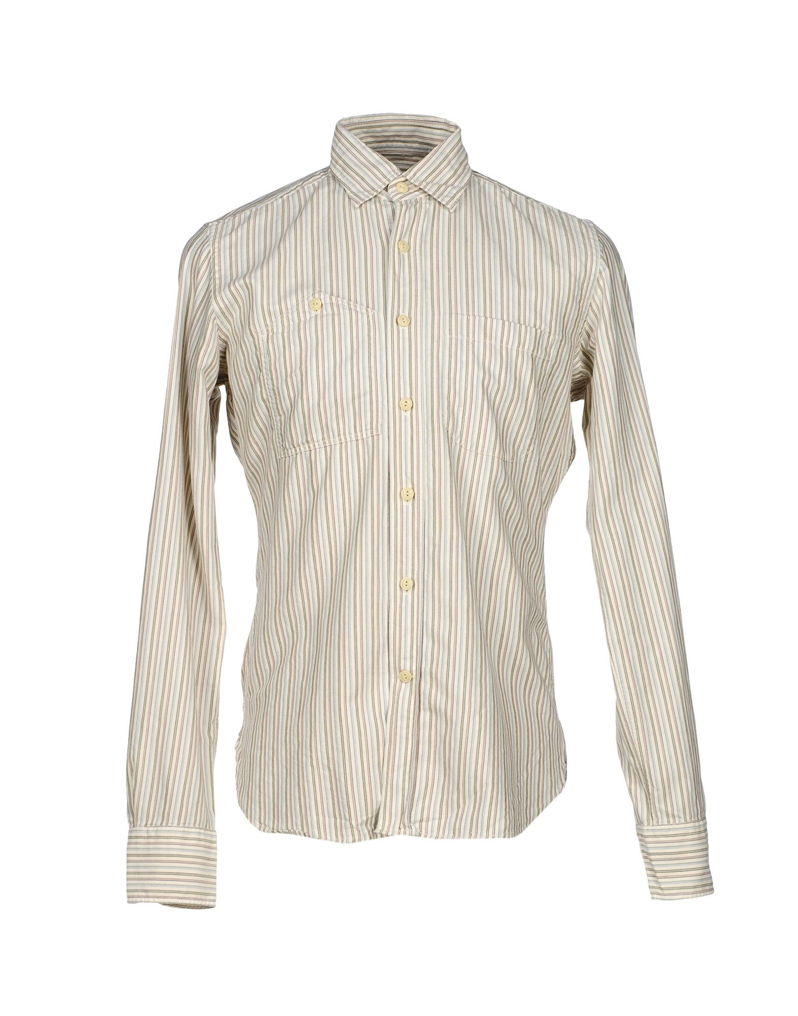 Camicia A Righe Glanshirt herren - 38415474BO