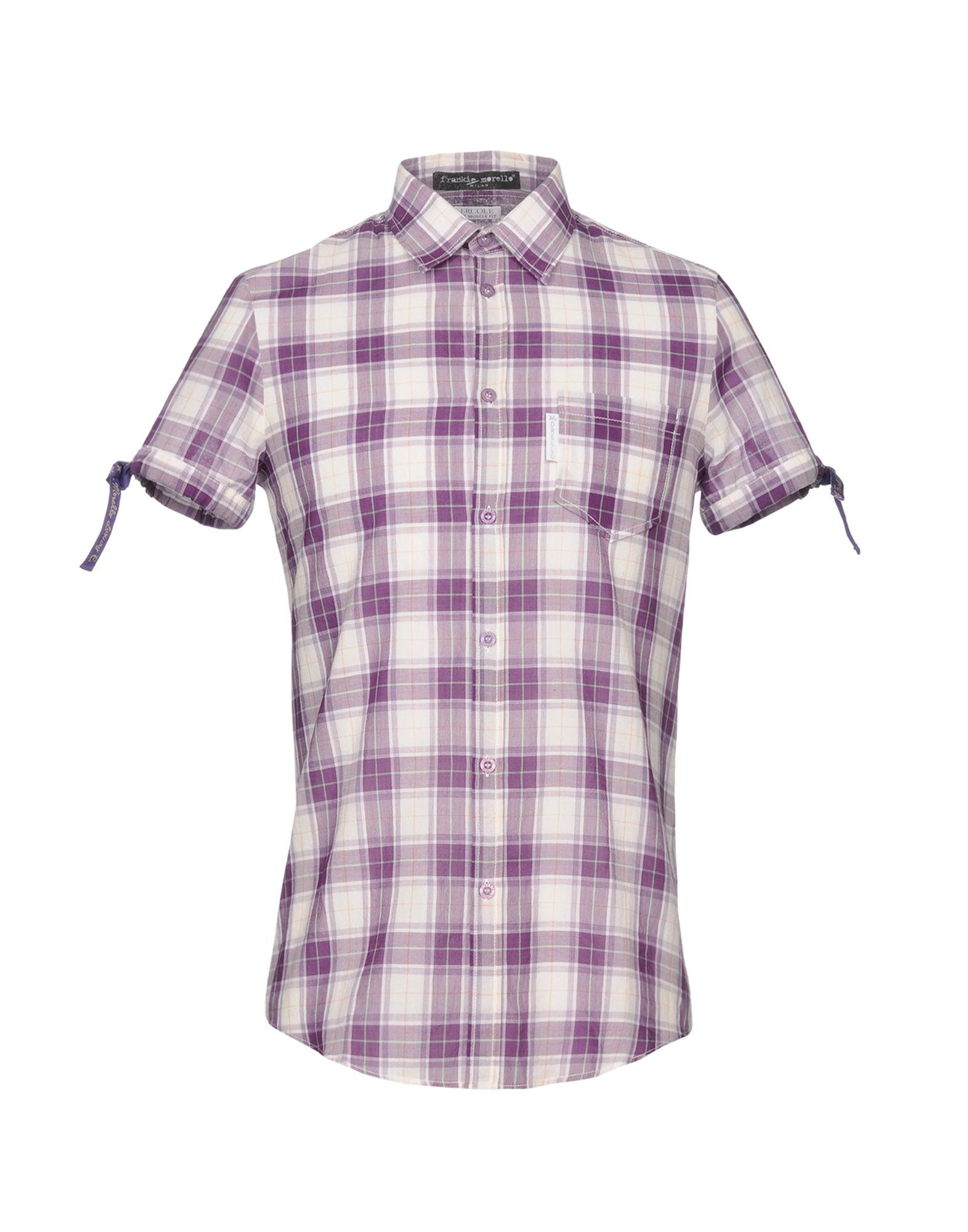 Camicia A Quadri Frankie Morello Uomo - Acquista online su
